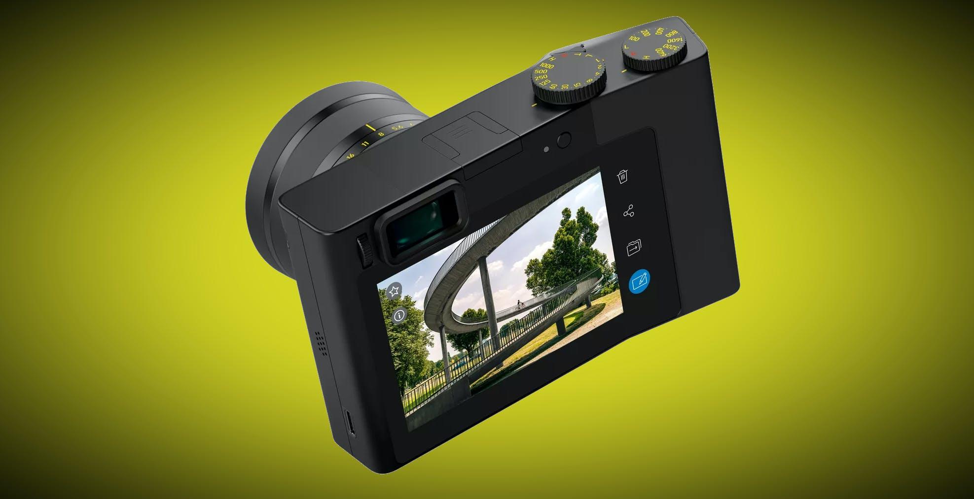 Le vedove della Galaxy camera possono ordinare la nuova fotocamera Zeiss con Android a bordo. Servono 6000 dollari