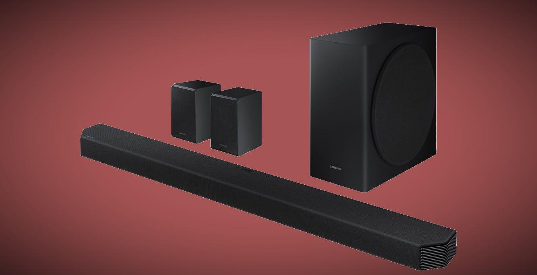 Samsung HW-Q950T, la nuova soundbar ha 9.1.4 canali, altoparlanti posteriori wireless e si parla con i TV QLED