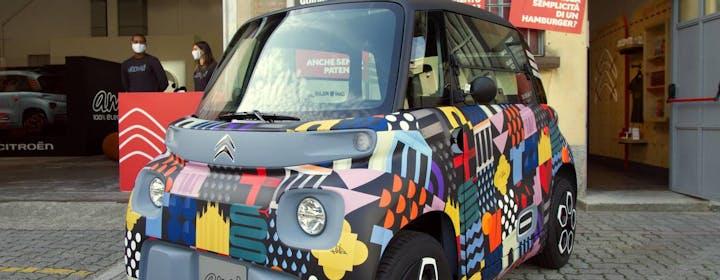 Citroen Ami arriva in Italia: a tu per tu con una City Car pura, 100% elettrica