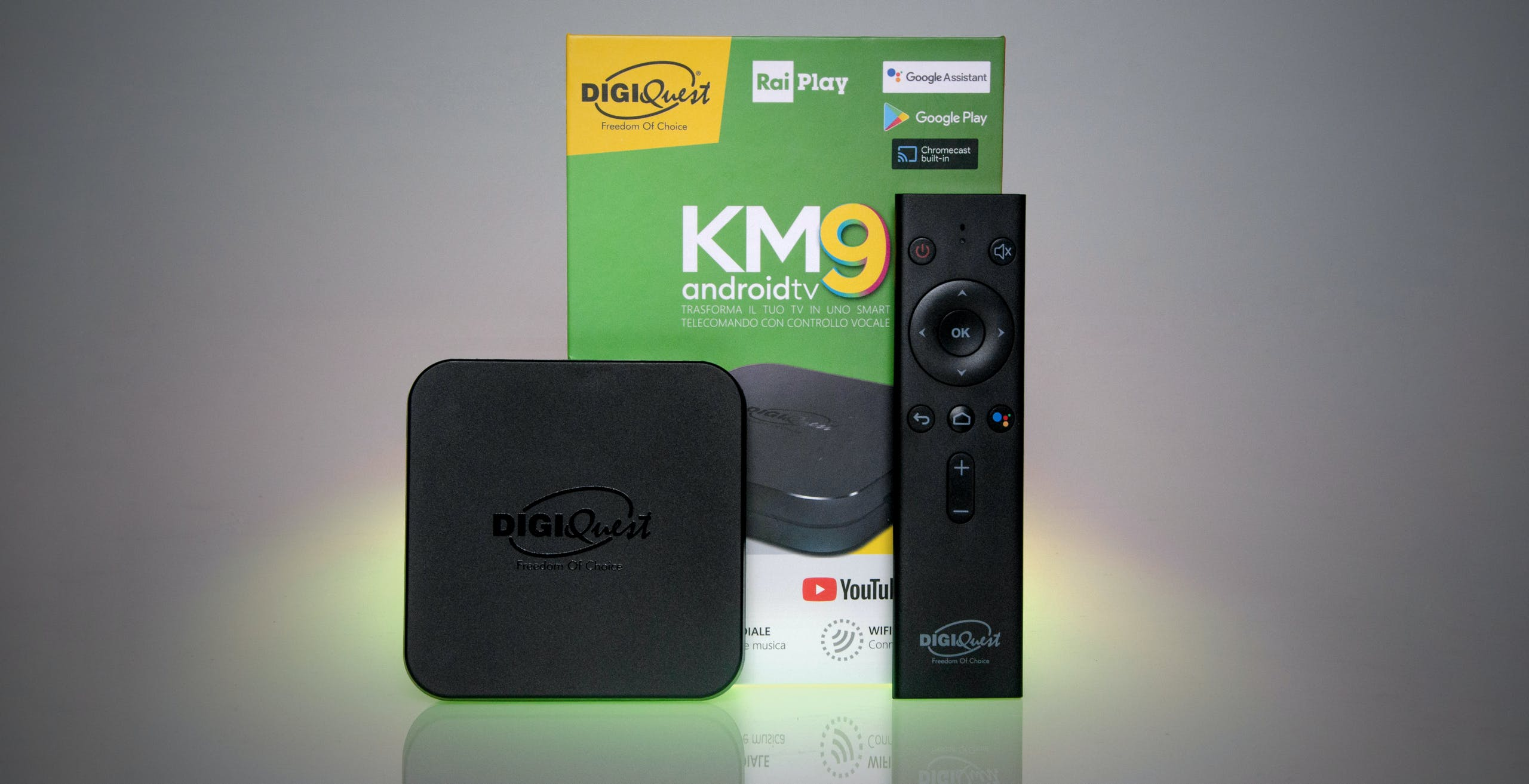 Test Digiquest KM9: un box Android TV che guarda al passato anziché al futuro
