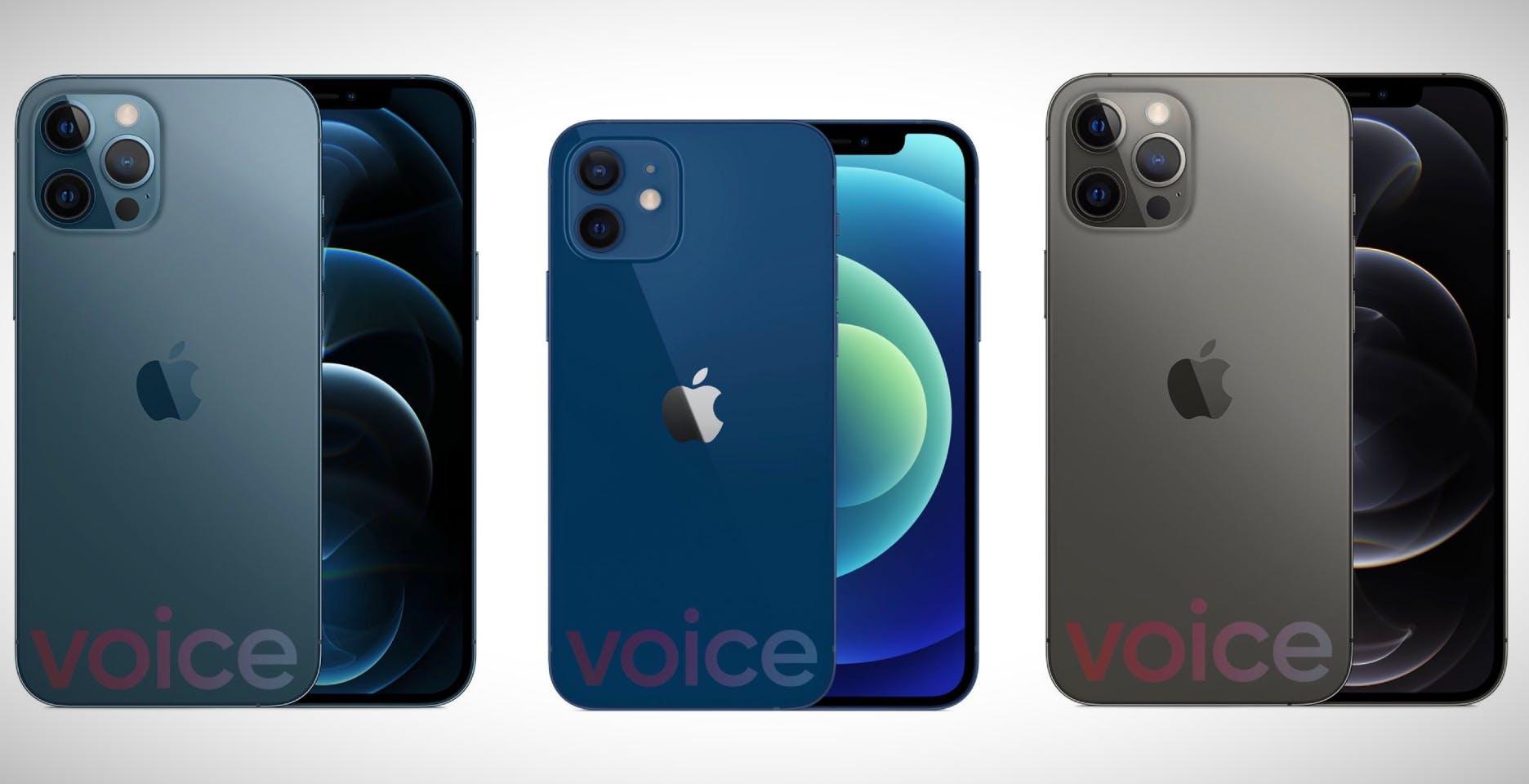 Come saranno i nuovi iPhone 12