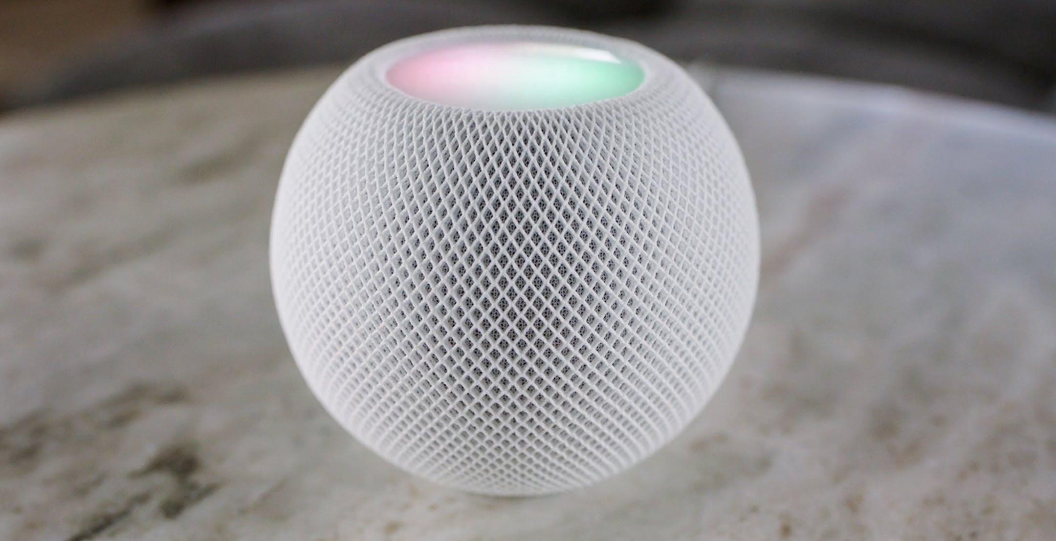 """HomePod diventa """"mini"""": è sferico e può essere usato come interfono"""