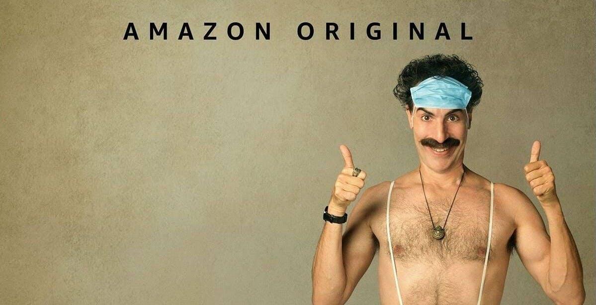 In arrivo su Prime Video Il Talento del Calabrone, Time e Borat