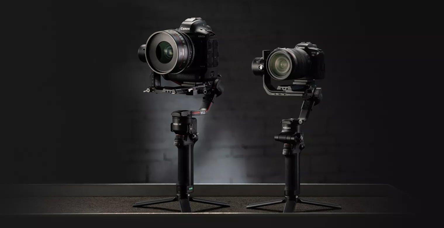 Ronin S 2 e Ronin SC 2, i due nuovi gimbal di DJI si alleggeriscono e crescono in prestazioni