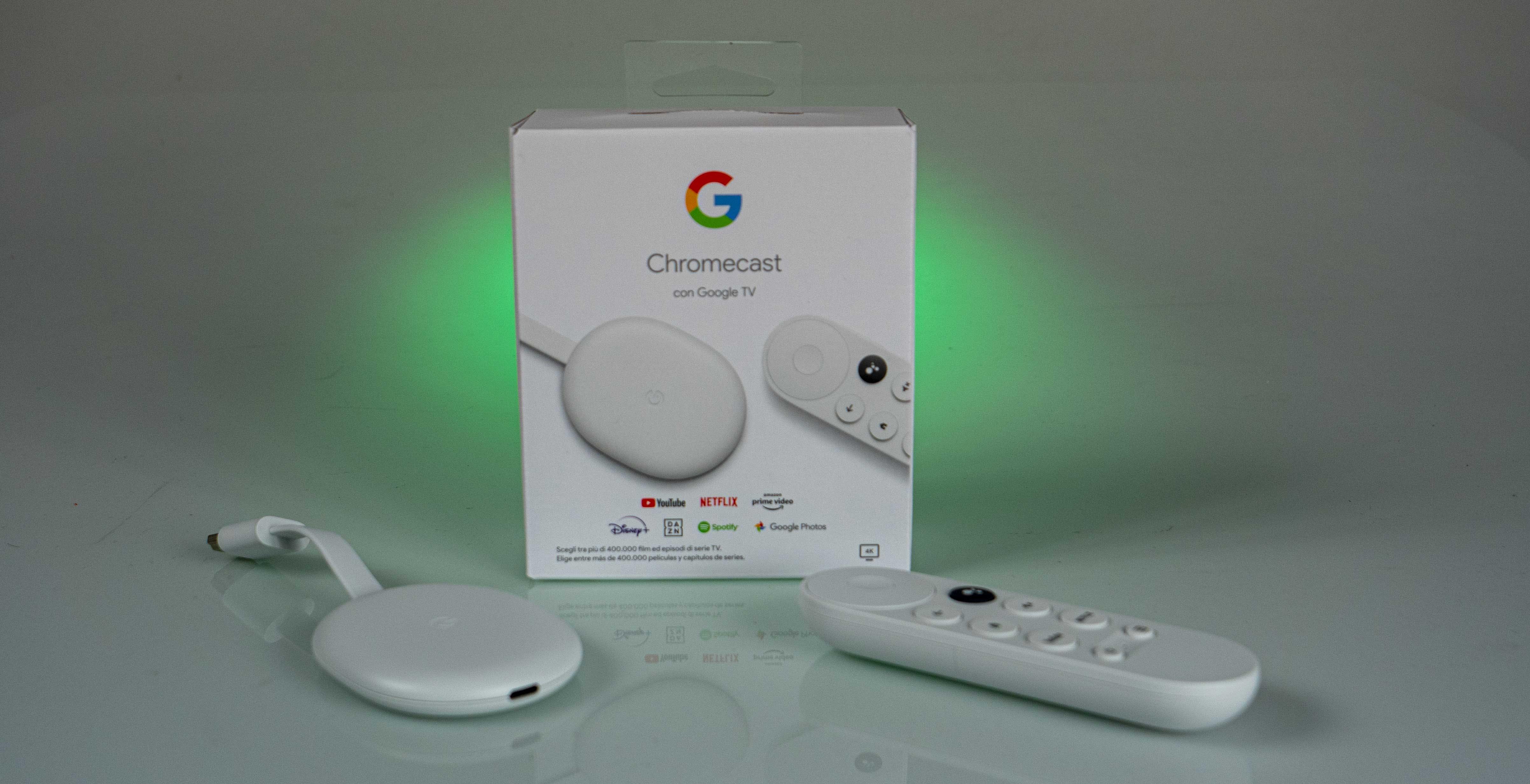 Chromecast con Google TV, recensione. 4K e HDR con una interfaccia velocissima