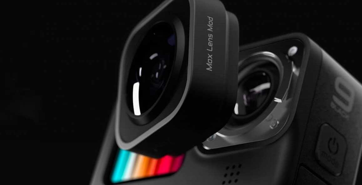 GoPro Mod Max disponibile a 99 euro: la Hero 9 guadagna l'obiettivo ultra wide