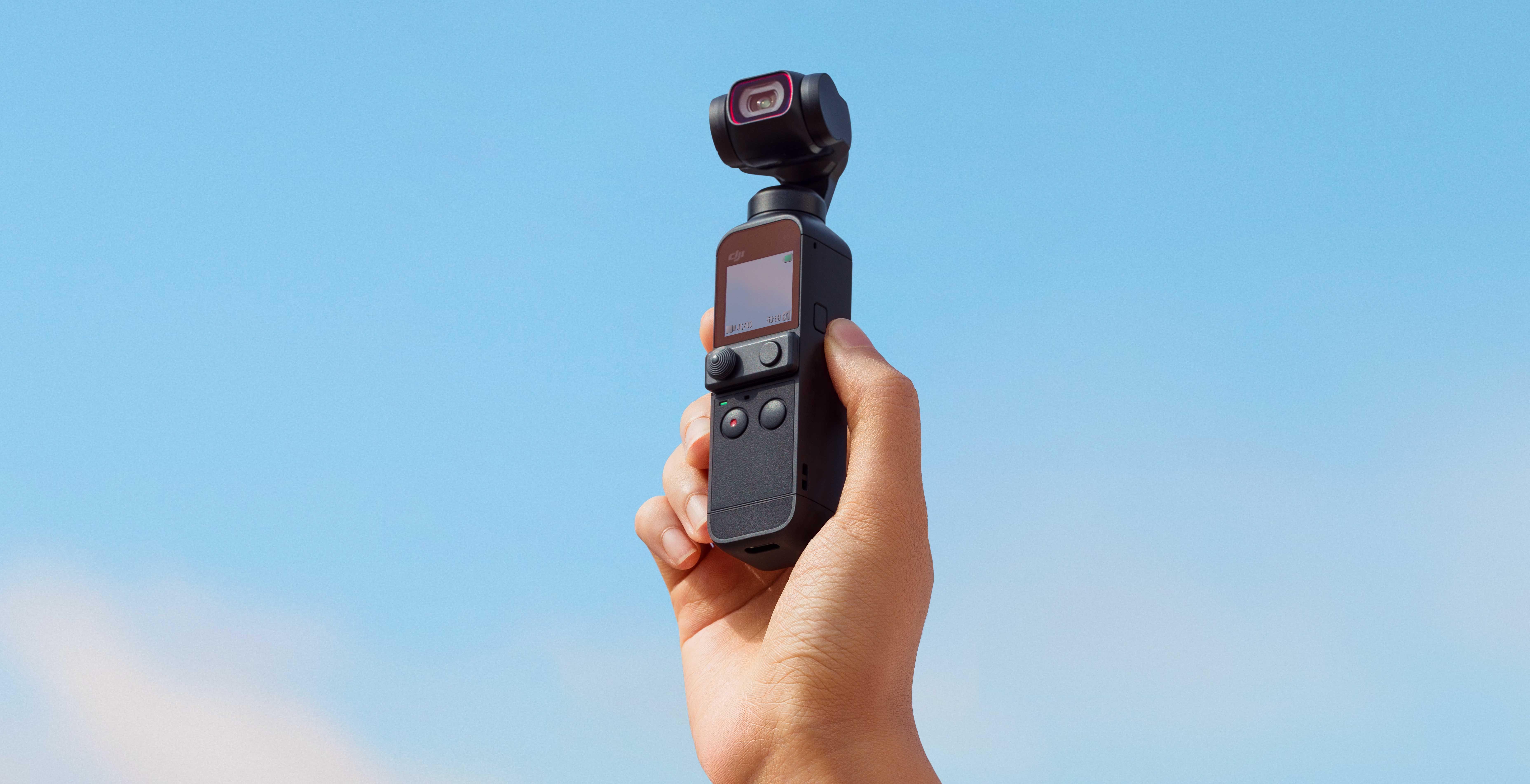 Anteprima DJI Pocket 2. Sensore più grande, controller stick e audio migliorato