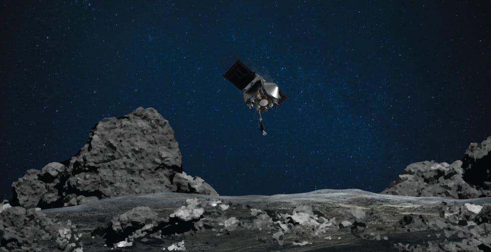 """La sonda OSIRIS-REx della NASA ha """"grattato"""" con successo l'asteroide Bennu. Ma è ancora mistero sul raccolto"""