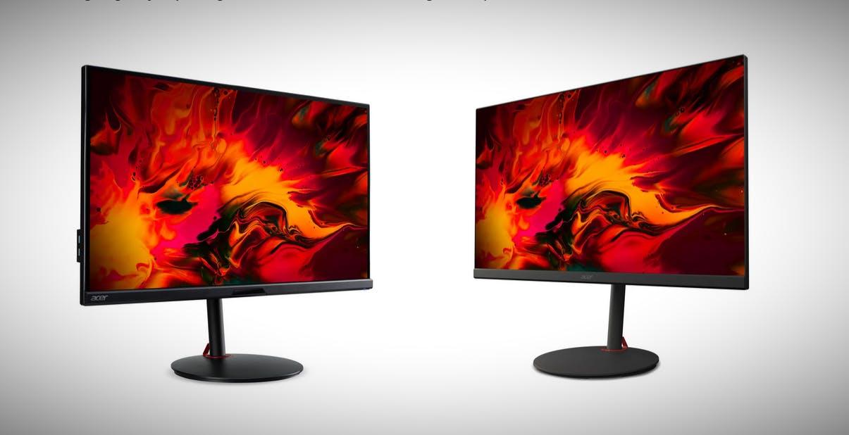 Acer lancia sei nuovi monitor da gaming. Refresh rate fino a 280 Hz e filtro TÜV Rheinland anti luce blu
