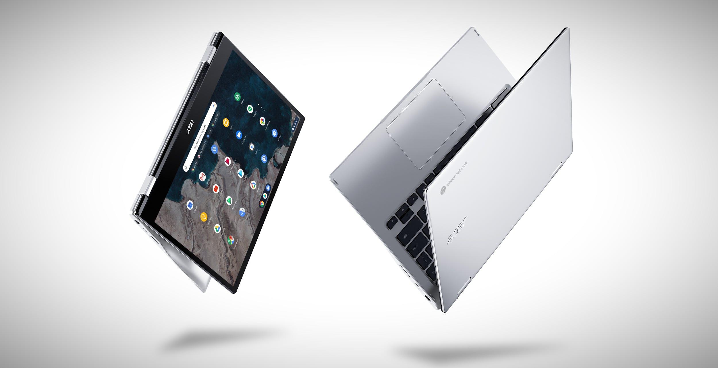 Ecco il nuovo Chromebook Spin 513 di Acer. Il primo al mondo con Snapdragon 7c