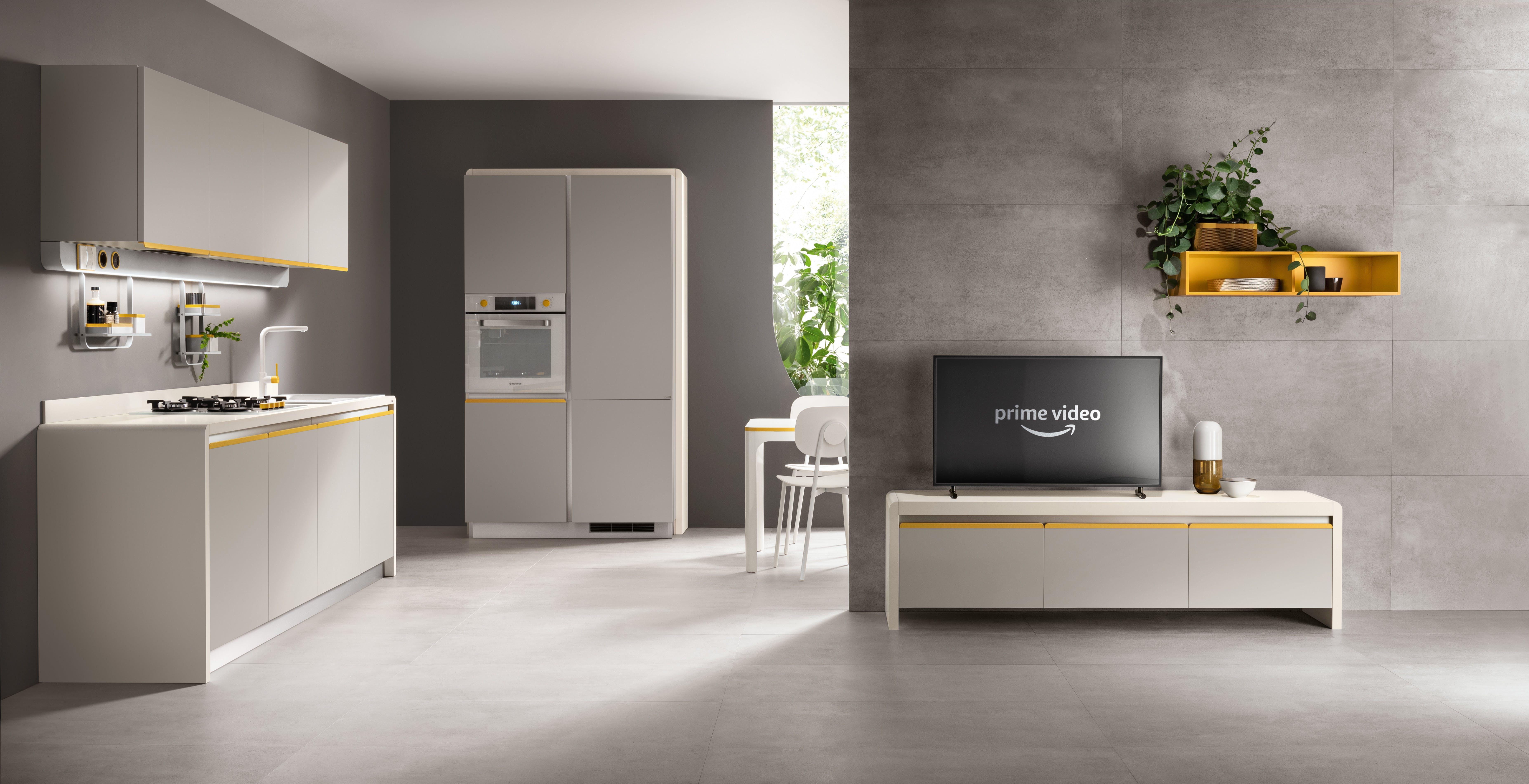 Scavolini integra Alexa nella nuova linea d'arredo: la smart home è servita