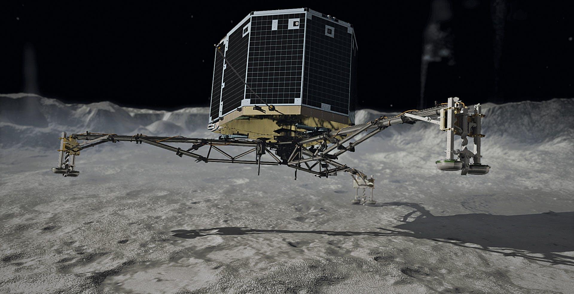 Philae è vivo? Il lander abbandonato sulla cometa dal 2014 ha un messaggio da rivelare