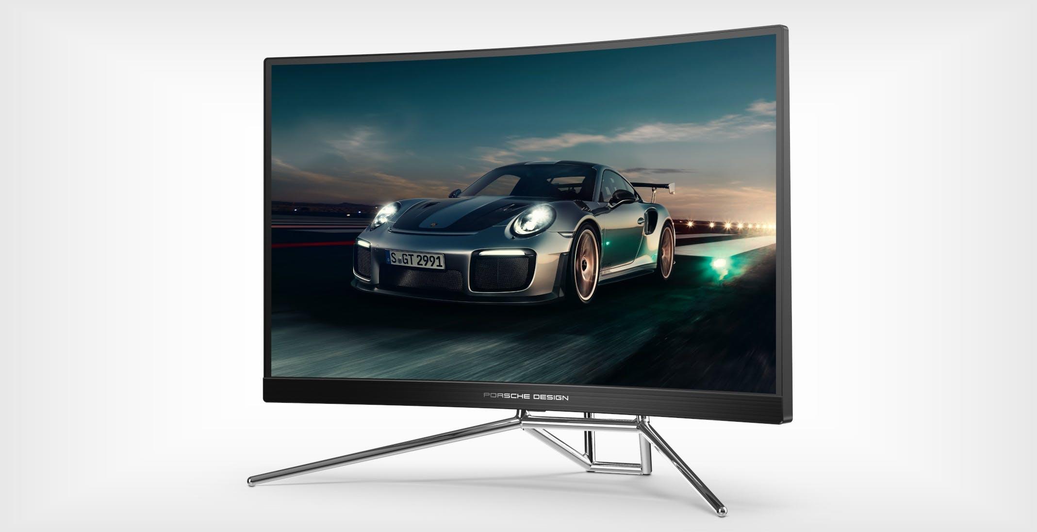 Da Porsche Design e AOC nasce AGON PD27, il monitor da gioco con prestazioni da fuoriserie