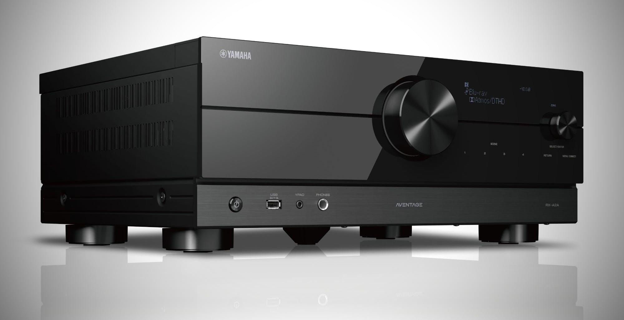 Yamaha rinnova la gamma di sintoampli Aventage, si parte dal nuovo RX-A2A con HDMI 2.1