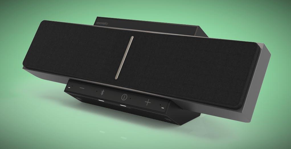 SoundBeamer è il diffusore che avvolge la testa con il suono senza bisogno di cuffie