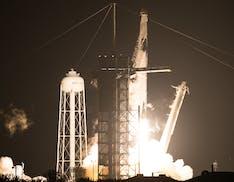 Crew Dragon Resilence è partita. È la prima missione ufficiale NASA con equipaggio operata da SpaceX