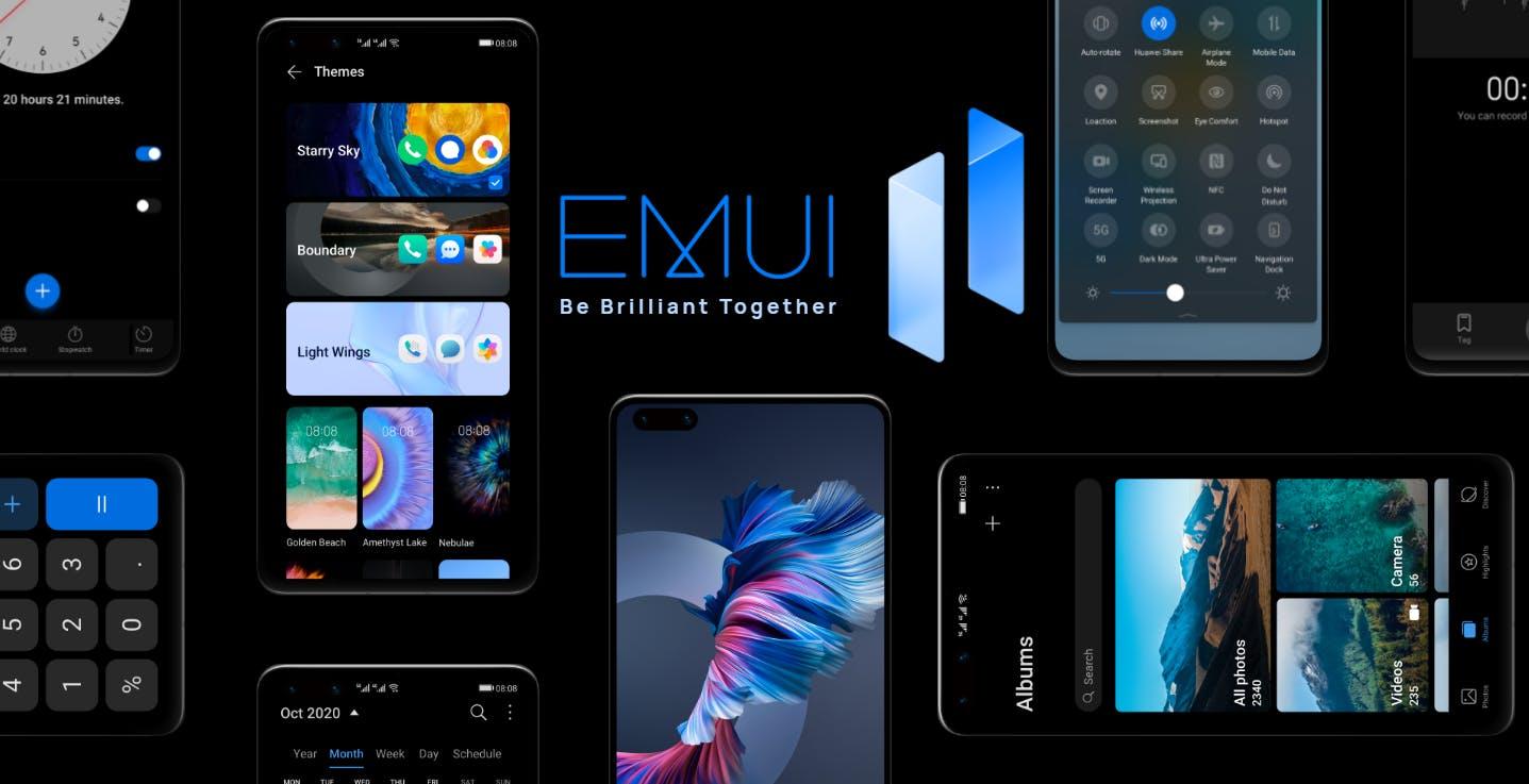 Huawei rilascia EMUI 11, si parte con la serie P40
