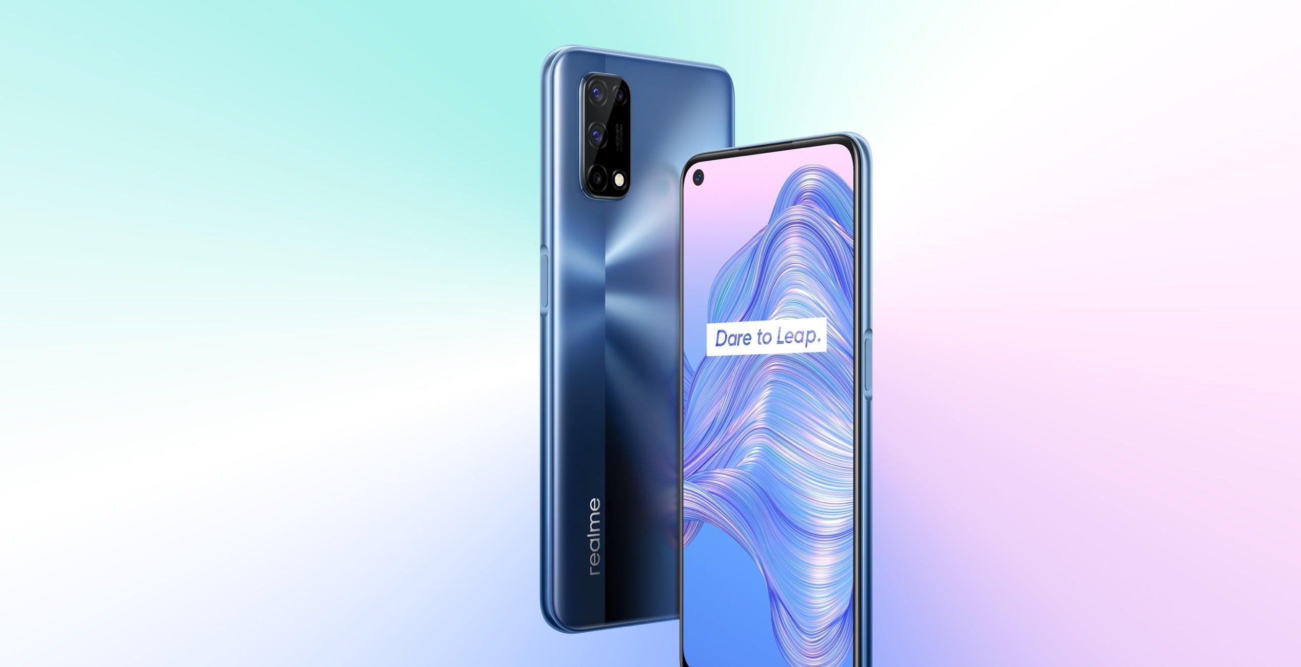 """""""Lo smartphone 5G per tutti"""": Realme 7 5G costa 279 euro"""