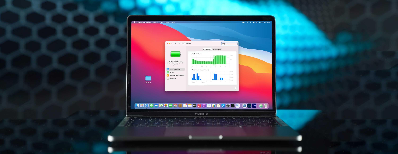 MacBook Pro 2020 M1: analisi di consumi, temperature e dettagli tecnici