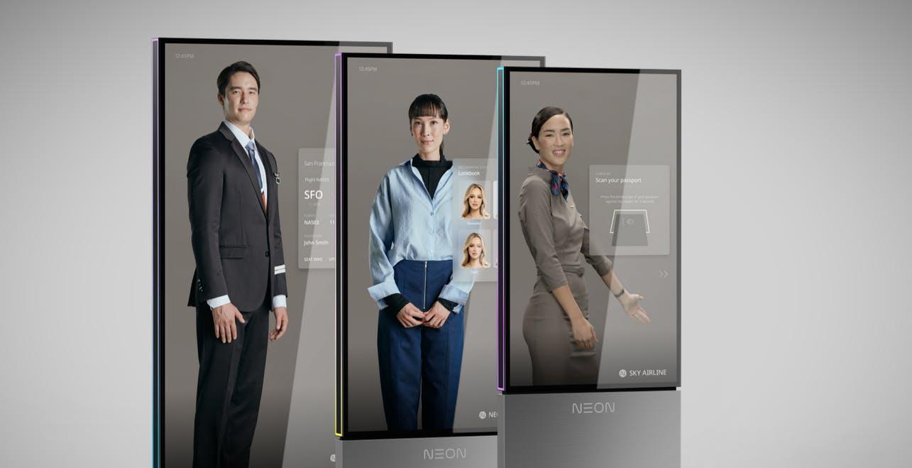 Gli avatar Neon di Samsung sono pronti al lancio. Sostituiranno gli uomini in alcuni lavori?