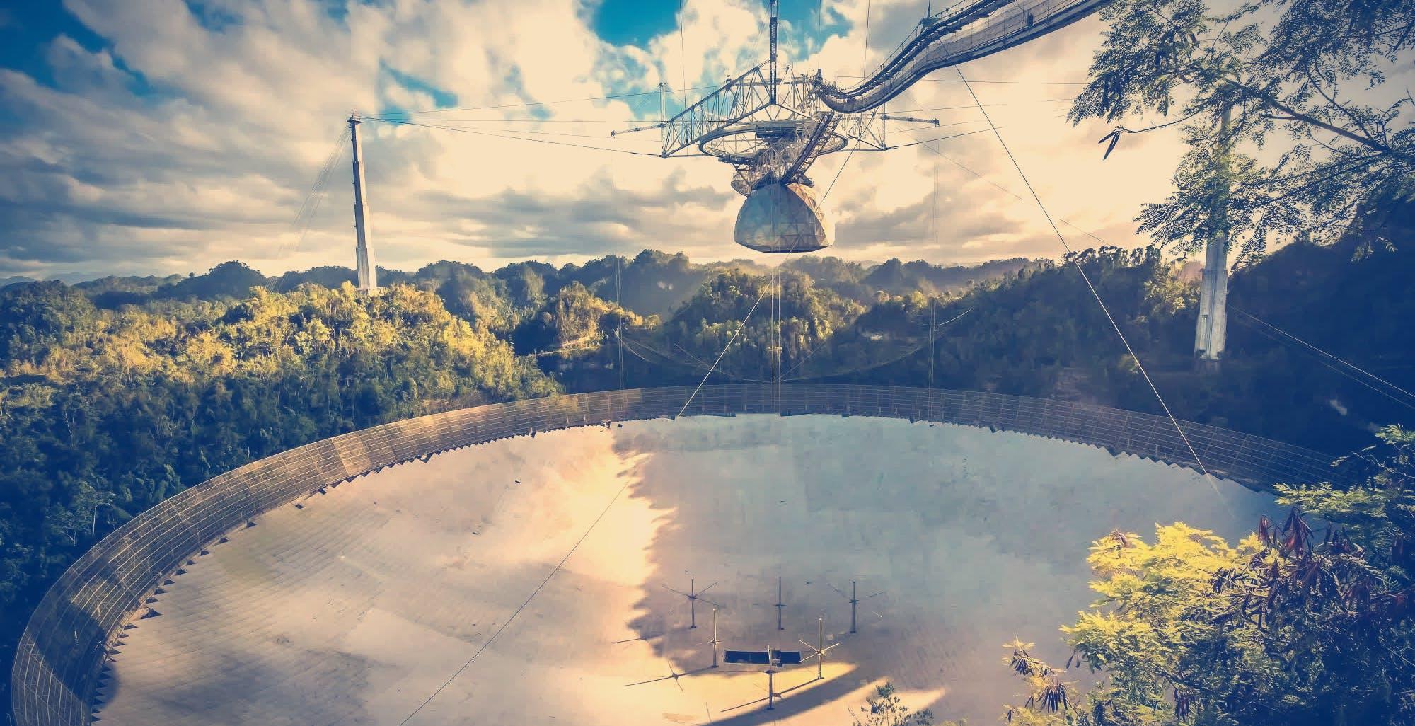 L'Osservatorio di Arecibo è crollato. Ma il suo messaggio più importante è ancora in viaggio nello spazio