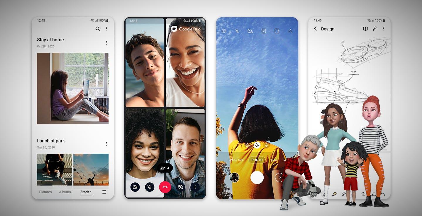 Android 11 arriva nei Samsung Galaxy. L'interfaccia One UI 3 si rifà il look e pensa al benessere degli utenti