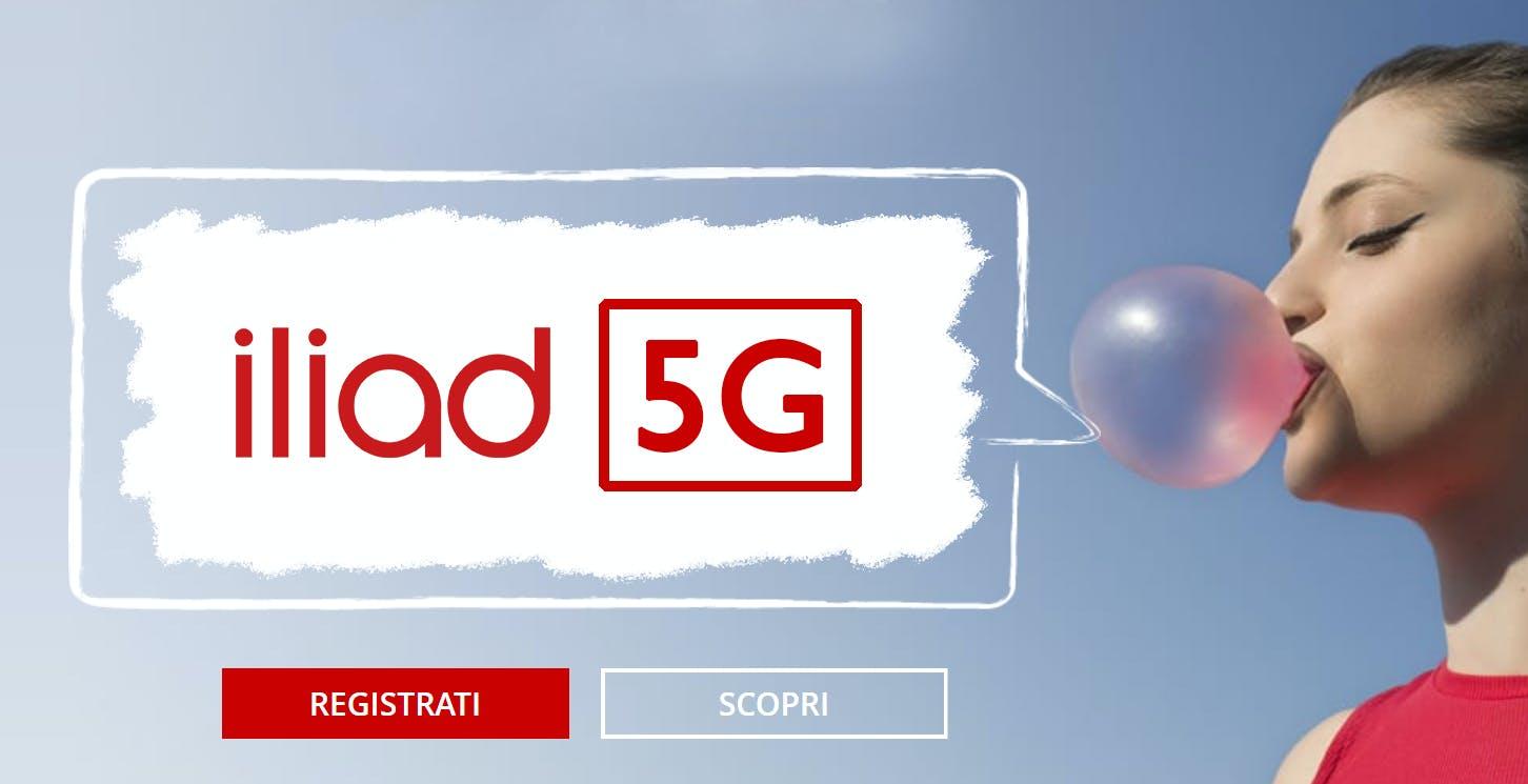 Il lancio del 5G di Iliad è imminente. I primi a beneficiarne saranno gli utenti privati