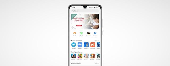 Uno smartphone Huawei in mano a un utente medio: App Gallery supera la prova?