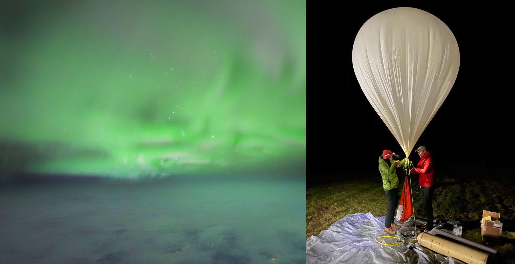 L'aurora boreale ripresa da una Sony A7S III agganciata a un pallone aerostatico è meravigliosa. Toccati i 37 km di quota