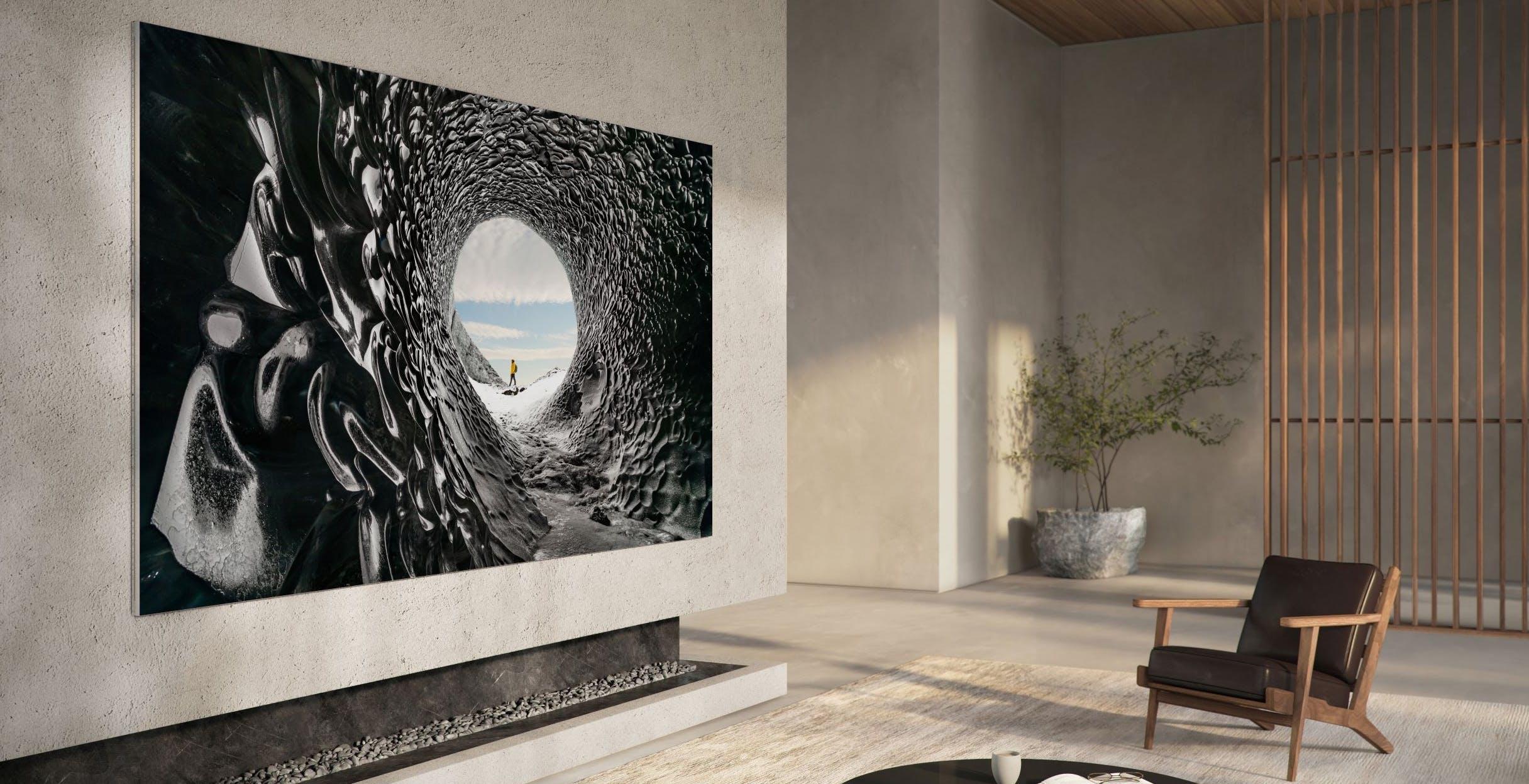 Il futuro della TV di Samsung è un MicroLED da 110 pollici. Costo, 130.000 euro