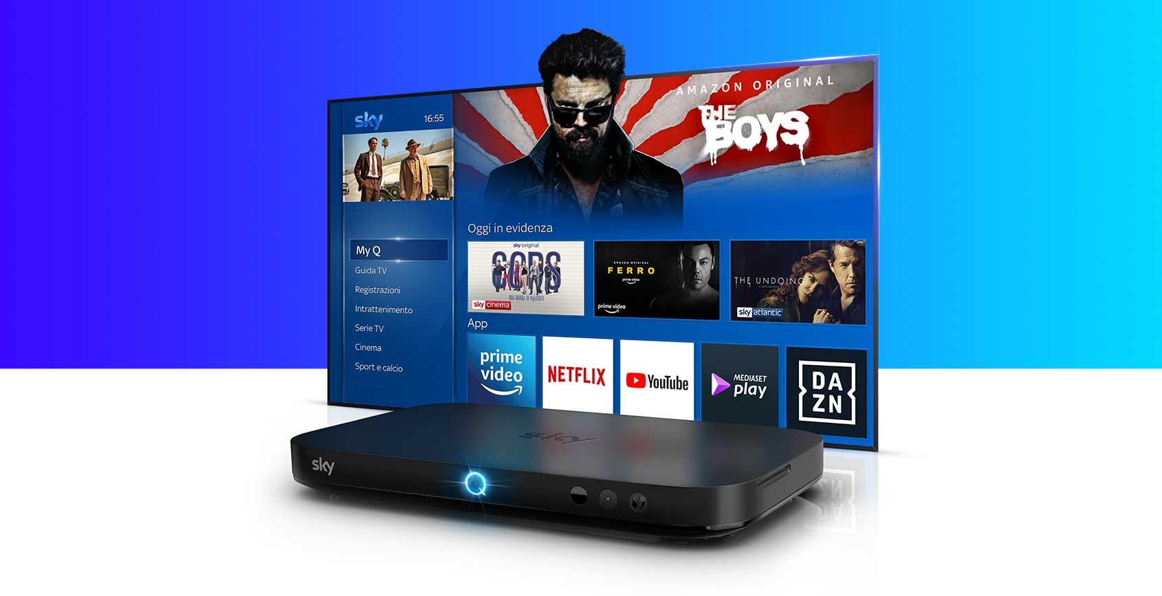 Amazon e Sky, accordo europeo: Prime Video va su Sky Q e Now TV Stick, Now TV sbarca su Fire TV Stick