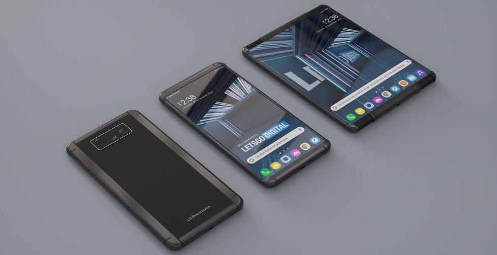 Lo smartphone arrotolabile di LG potrebbe essere pronto a inizio 2021