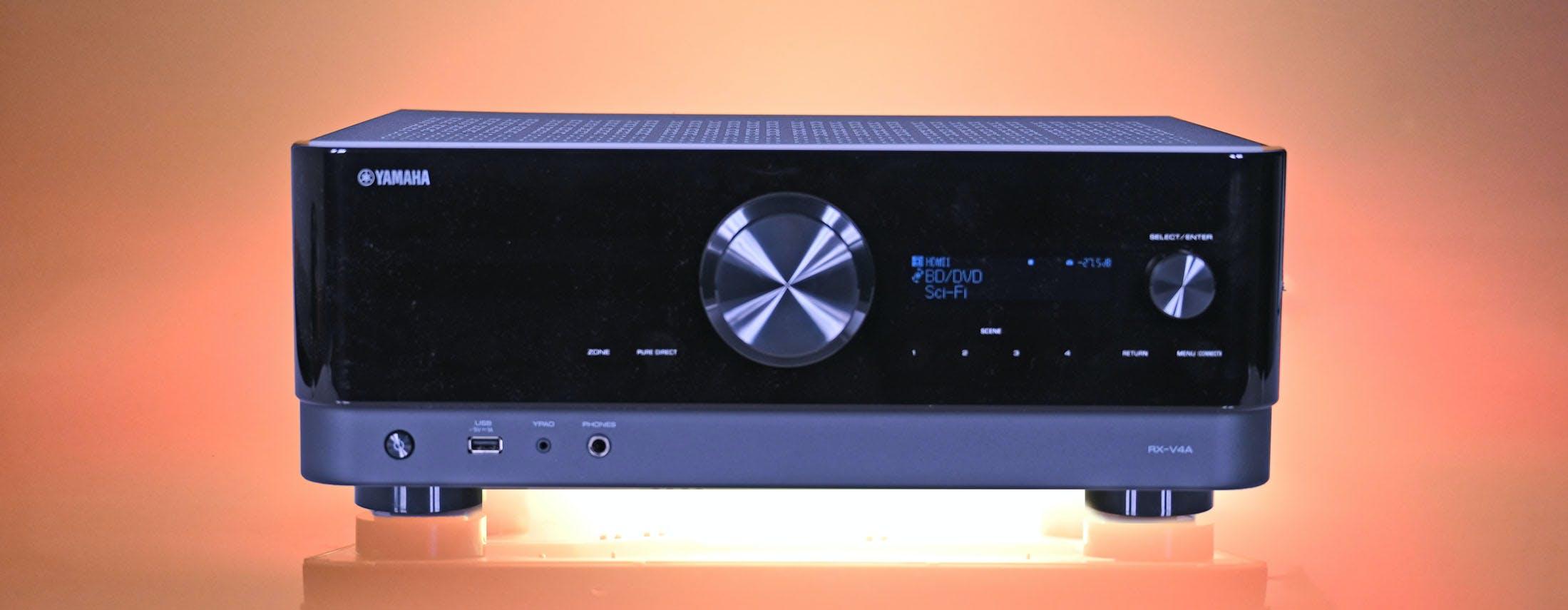 Yamaha RX-V4A, in prova l'home theater giudizioso