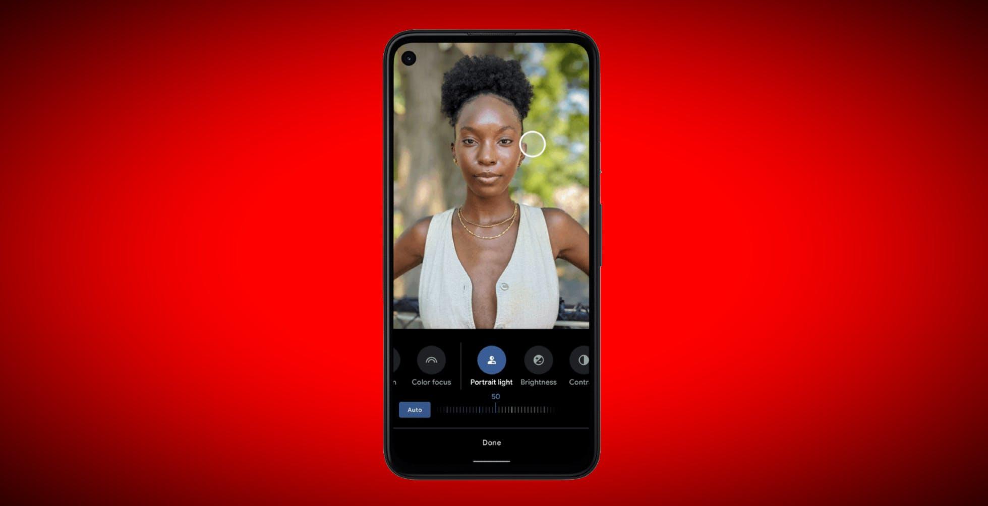 Google Foto fa cambiare l'illuminazione del volto anche dopo lo scatto: ecco come ci è riuscita