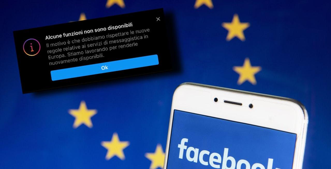 Perché Facebook ha disabilitato alcune funzioni di Messenger e Instagram