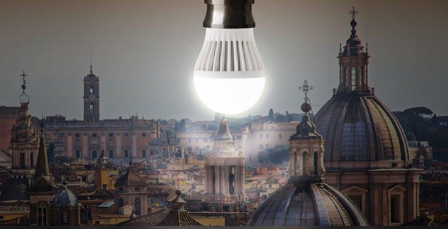Roma avvierà la sperimentazione del Li-Fi, la trasmissione dati wireless attraverso la luce
