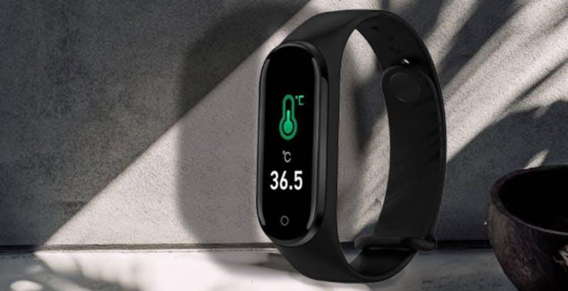 TO BE Watch è la smart band in grado di misurare anche la temperatura corporea