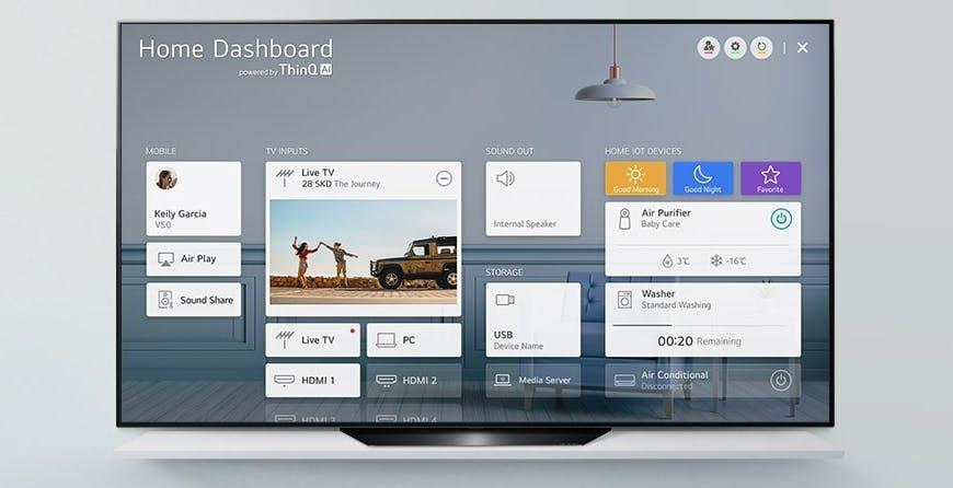 LG rilascia l'aggiornamento con AirPlay e HomeKit per i TV del 2018. La lista completa