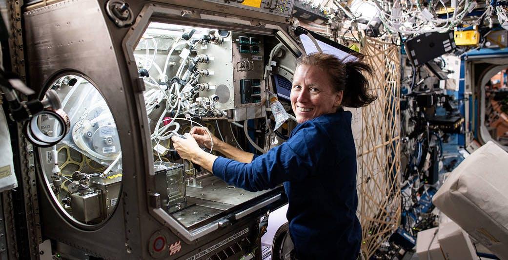 I test scientifici più interessanti effettuati sulla ISS nel 2020