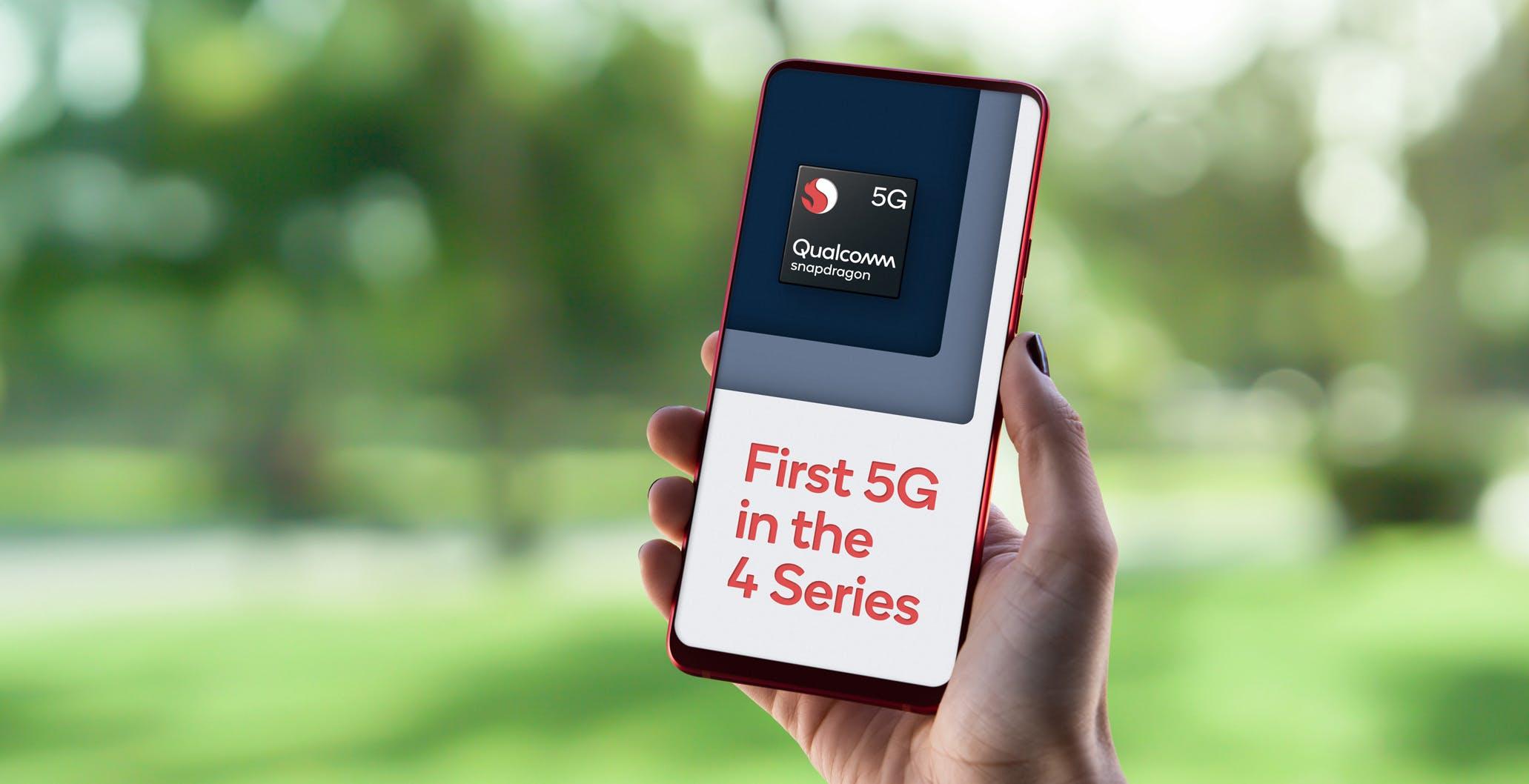 5G a basso costo: ufficiale lo Snapdragon 480 5G