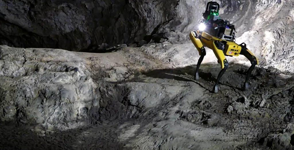 Ecco il cane robot che esplorerà le caverne di Marte