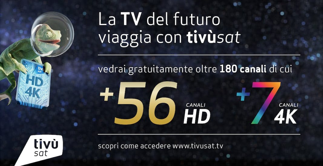 Finalmente La7 in HD anche su Tivùsat