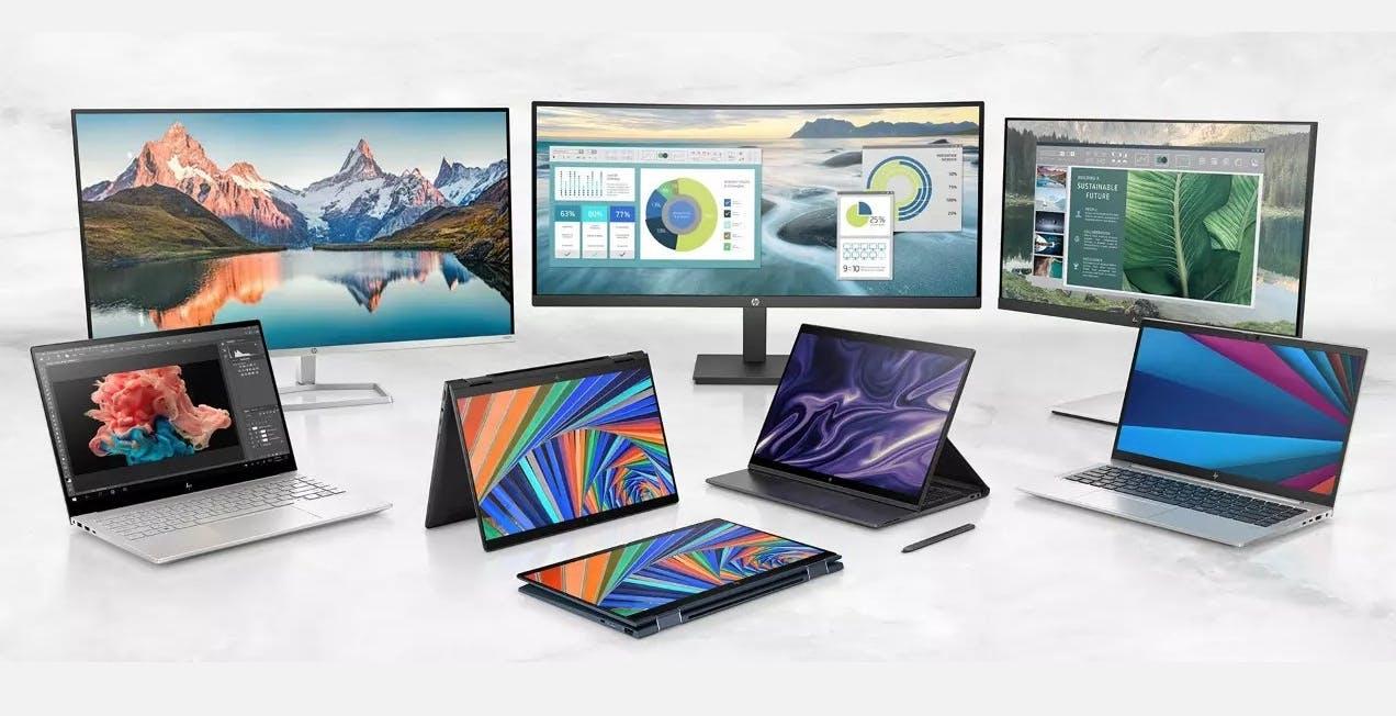 Ecco la nuova gamma di portatili HP: Envy, Dragonfly ed Elite. C'è anche un modello con ARM