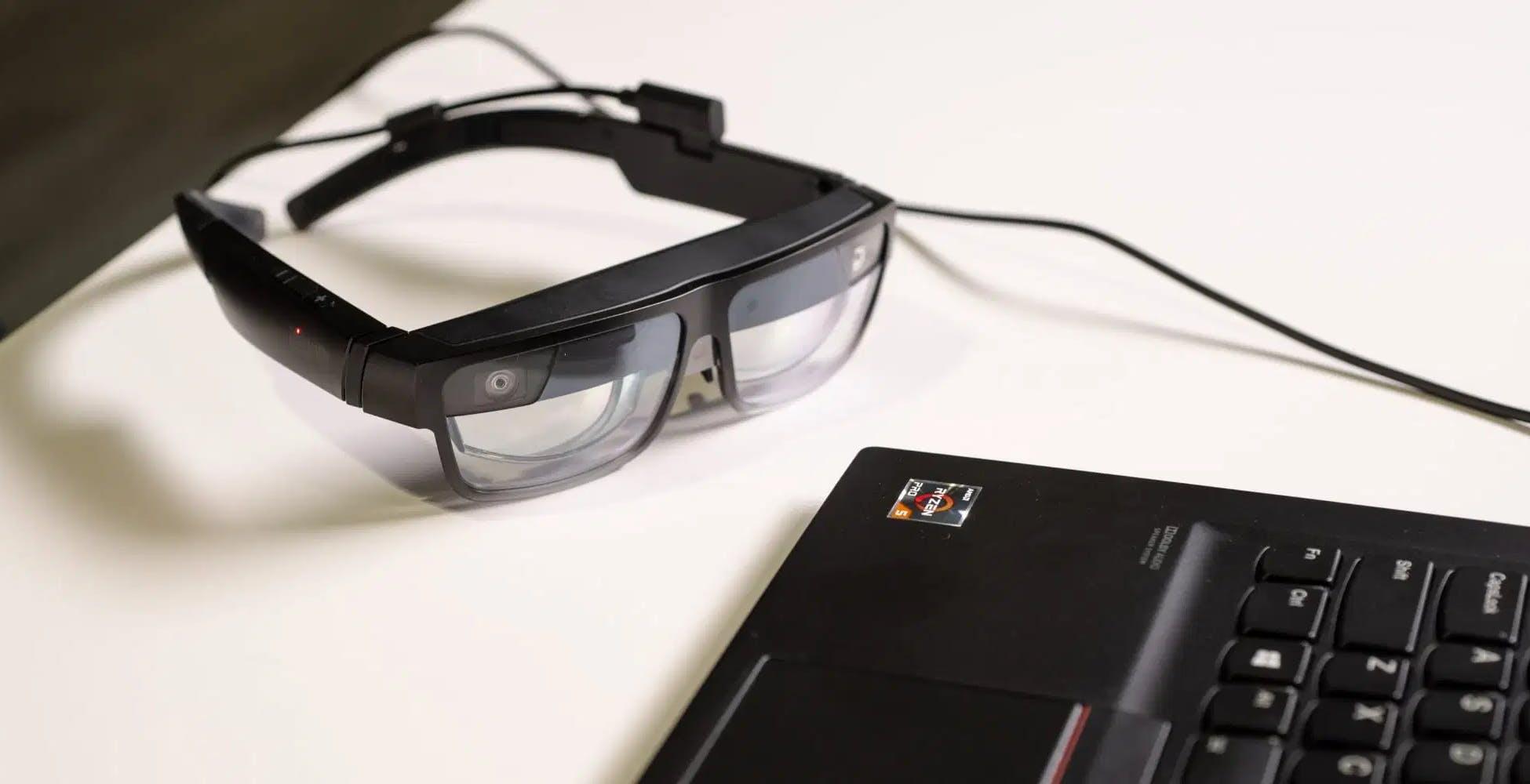Questi sono i ThinkReality A3, gli occhiali per la realtà aumentata di Lenovo