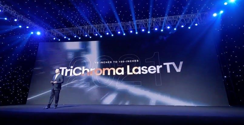 Hisense annuncia il nuovo TriChroma Laser TV con copertura del 107% dello spazio BT.2020