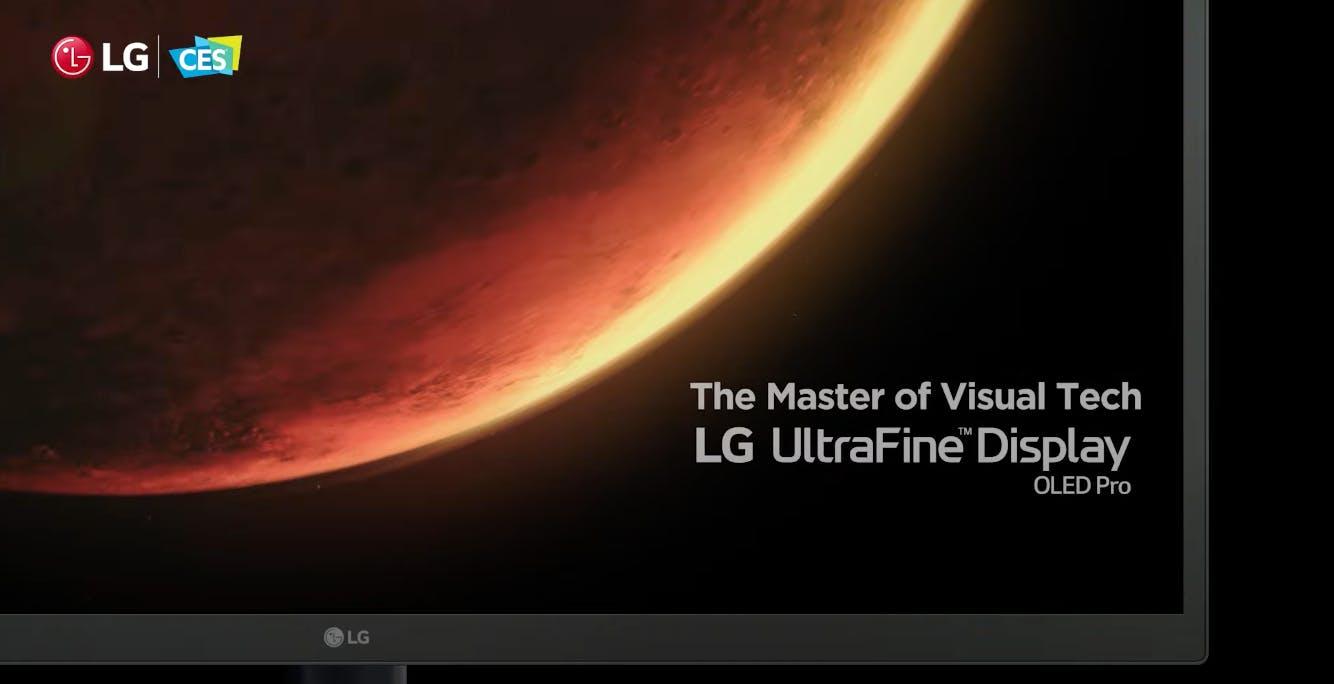 LG annuncia il monitor professionale OLED da 31,5 pollici Ultrafine Display OLED Pro