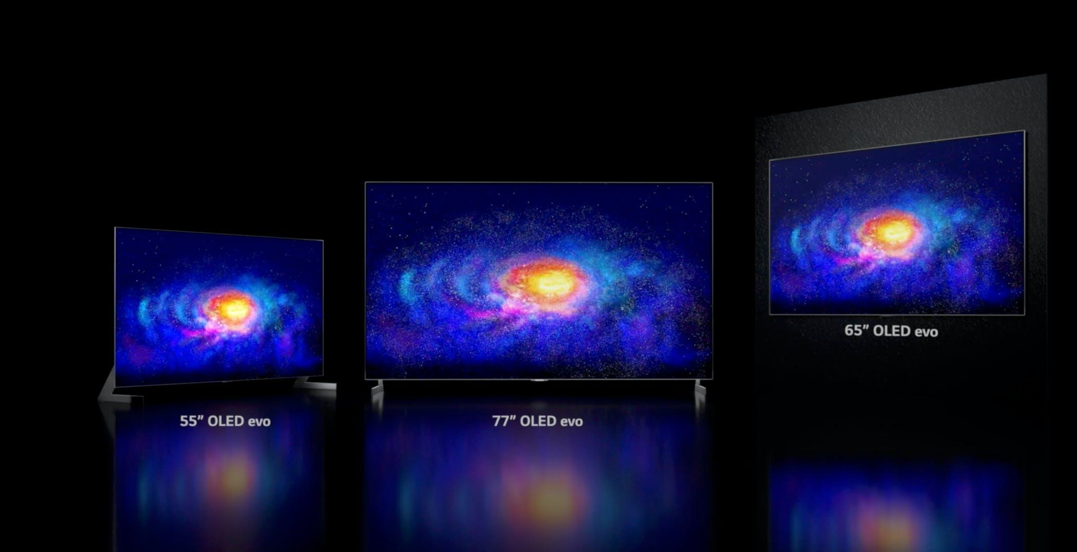 LG annuncia gli OLED del 2021: si chiameranno C1, G1 e Z1. Scommessa sul gaming: arriva anche Stadia