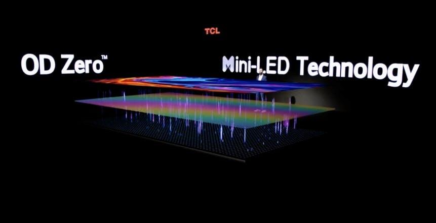 """TCL introduce i nuovi TV Mini LED """"OD Zero"""" con local dimming a migliaia di zone"""