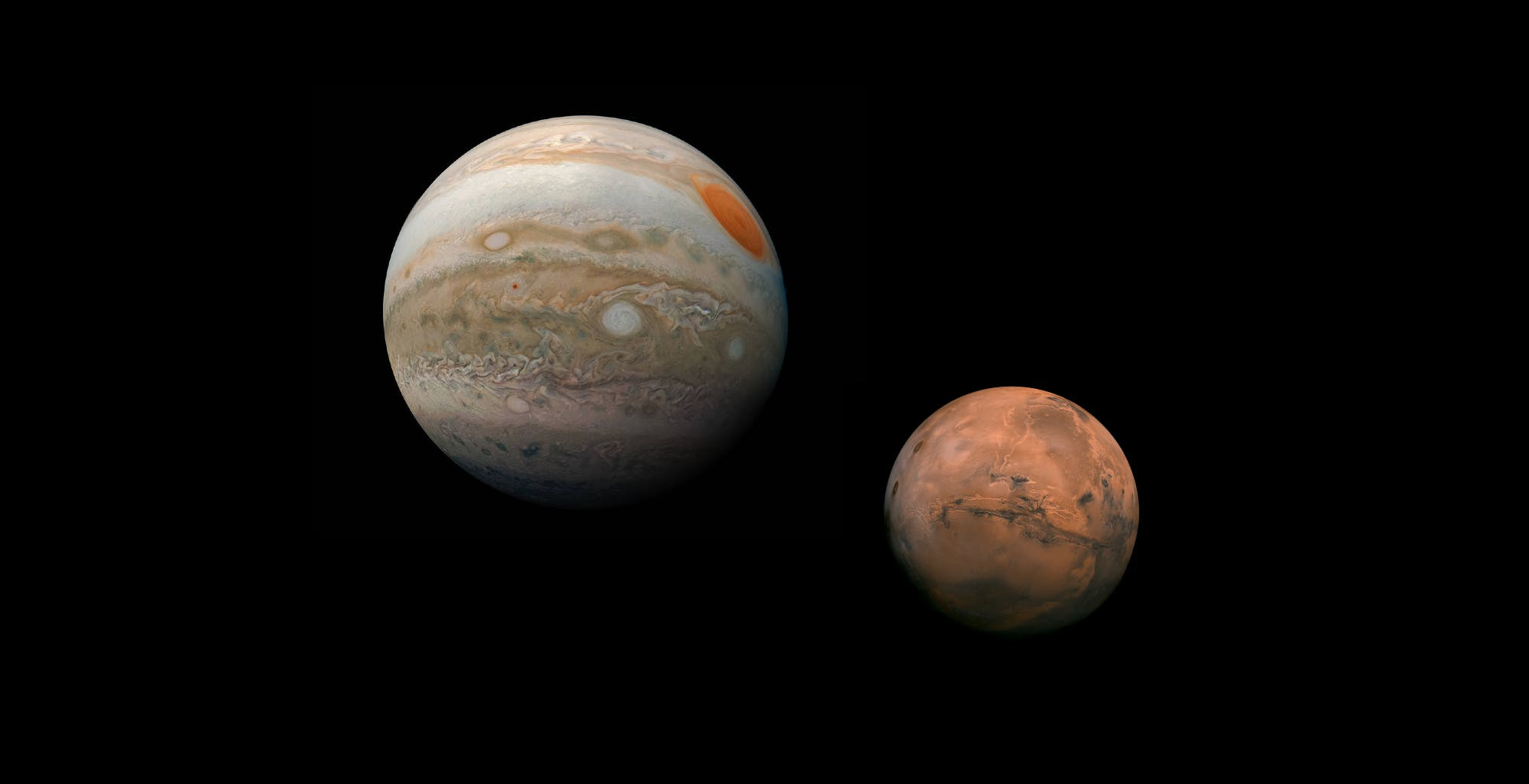 Juno e InSight promosse sul campo. Le missioni NASA continueranno a esplorare Giove e Marte