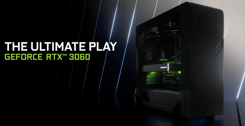 Nvidia annuncia la nuova RTX3060 e porta Ampere sui notebook con la terza generazione di Max-Q